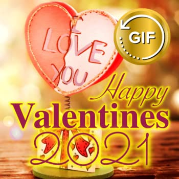 Happy Valentine s Day Wishes GIF images 2021