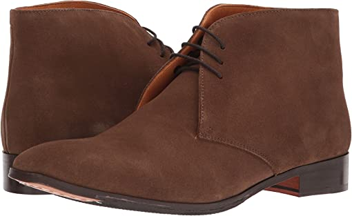 Honey Brown Calfskin Suede