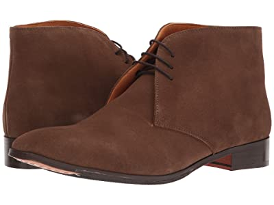 CARLOS by Carlos Santana Corazon Chukka Boot (Honey Brown Calfskin Suede) Men