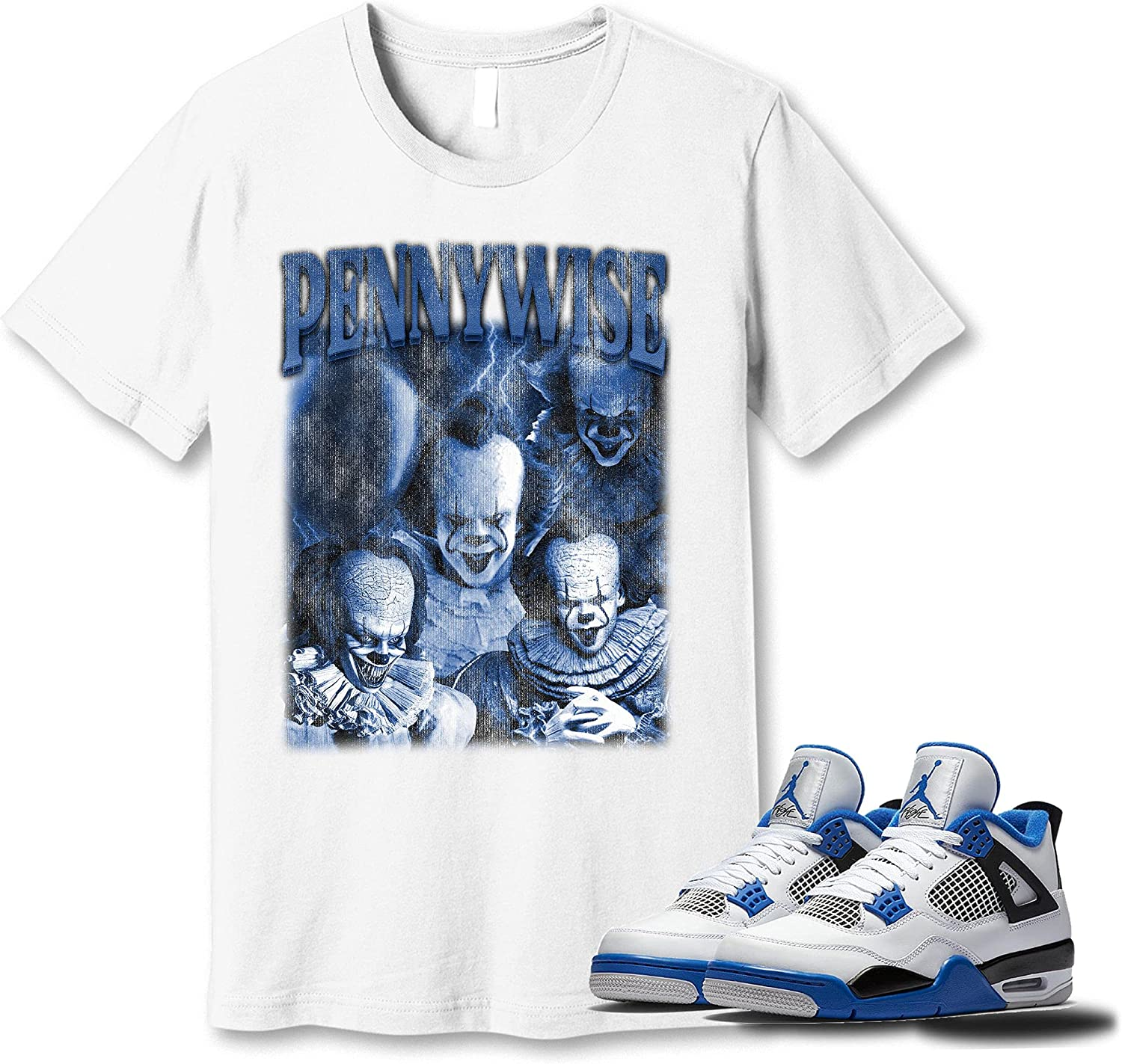 #Pennywise T-Shirt to Match Jordan Snkrs Colorado Springs Mall Sneaker Go High order 4 Motorsport