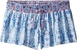 Seafolly Kids Boho Tile Boardie (Little Kids/Big Kids)