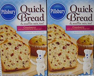 Pillsbury Cranberry Flavored Quick Bread & Muffin Mix, 15.6 oz