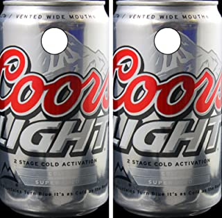 95afdf93 C269 Coors Light CORNHOLE WRAP WRAPS LAMINATED Board Boards Decal Set  Decals Vinyl Sticker Stickers Bean