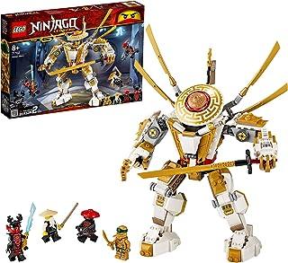 LEGO 71702 NINJAGO Legacy Golden Mech Action Figure with Lloyd, Wu and General Kozu, Ninja Building Set