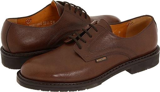Chestnut Pebble Grain Leather