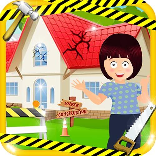 Fix It - Girls Fun House, Limpieza y reparación de juegos