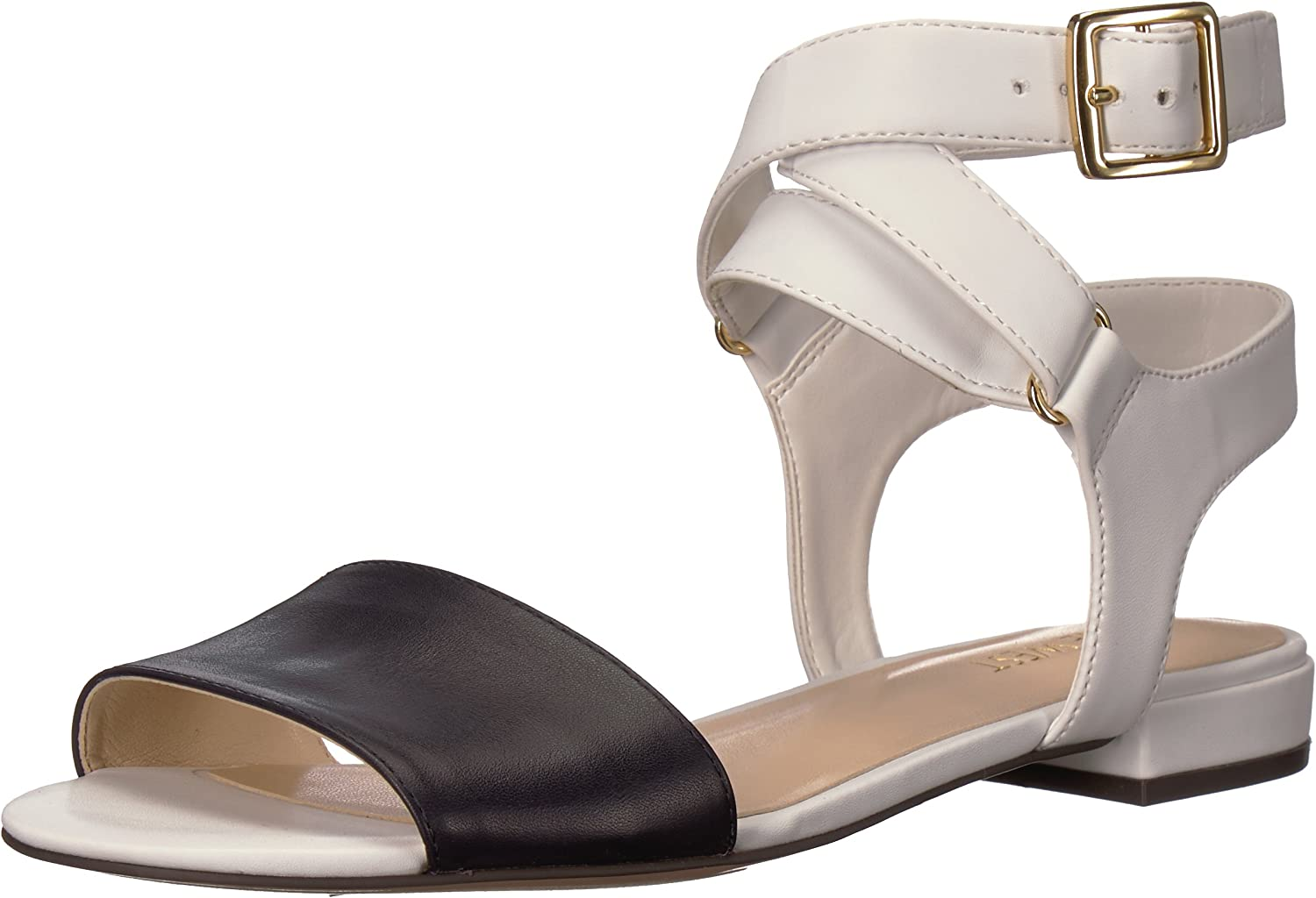 Nine West Womens Inch Synthetic Flat Sandal