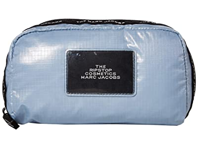 Marc Jacobs The Ripstop Cosmetic Pouch (Blue Mist) Handbags