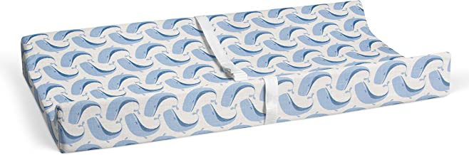 """product image for Glenna Jean Whale of a Time 16"""" x 32"""" Changing Pad Cover for Baby Nursery"""