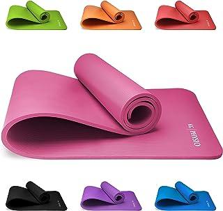 comprar comparacion KG Physio Esterilla de Yoga Extra Grueso 12mm-con Correa de Hombro Antideslizante para fácil Transporte-Fabricado con...