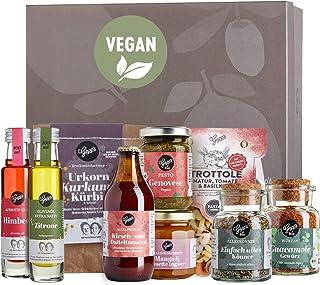 Gepp's Feinkost Vegan Must-Have Set I Köstliche Variationen an veganen Delikatessen wie Pasta, Bio Pesto, Gewürzmischunge...