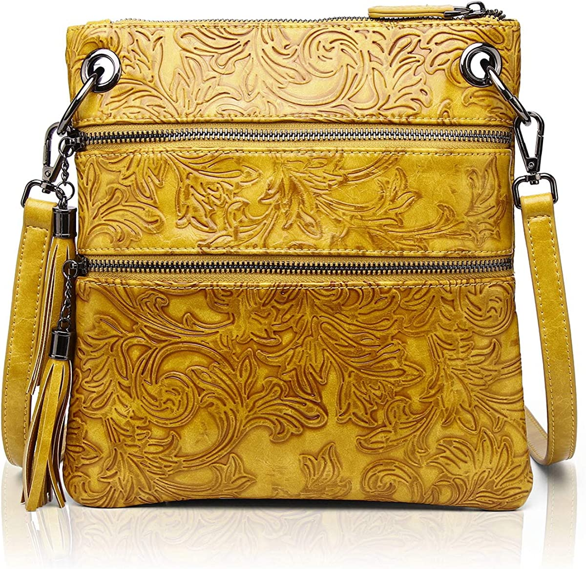 Women Special Campaign Crossbody Bags Embossed Large Outlet ☆ Free Shipping Capacity Cellphone Purse Gir
