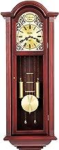 Bulova C3381 Tatianna Chiming Clock, Mahogany