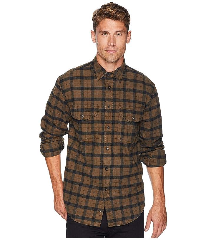 Mens Vintage Shirts – Casual, Dress, T-shirts, Polos Filson Alaskan Guide Shirt Otter GreenBlack Mens Long Sleeve Button Up $124.00 AT vintagedancer.com