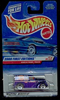 Hot Wheels 2000-077 First Editions Anglia Panel Truck PURPLE 1:64 Scale