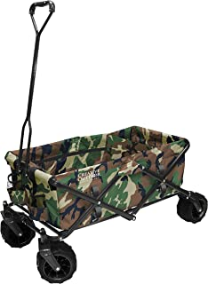 Creative Outdoor Distributor 900248-Camo All-Terrain, Camo Print Folding Wagon