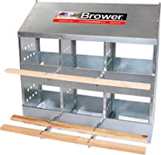 Brower 406B 6 Hole Poultry Nest