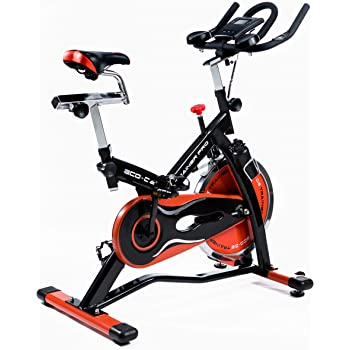 ECO-DE Bicicleta Spinning Trainer Pro. Uso semiprofesional con ...