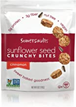 Somersaults Sunflower Seed Bites, Cinnamon, 6 Ounce (Pack of 6)