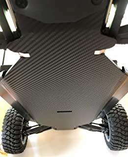 RACE READY RC Losi DBXL-E 1/5 Scale...Chassis Skin Protector...3D Textured Carbon Fiber.. New