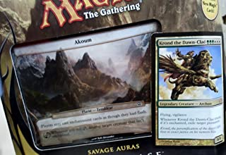 Magic the Gathering- MTG: Planechase (2012 Edition) Savage Auras - Game Pack