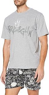 Freegun Ah.fggra.pshb.MZ Juego de Pijama para Hombre