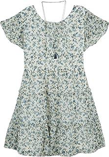 فستان بناتي من Amy Byer بأكمام مرفرفة وقصة واسعة