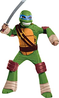 Teenage Mutant Ninja Turtles Deluxe Leonardo Costume, Large
