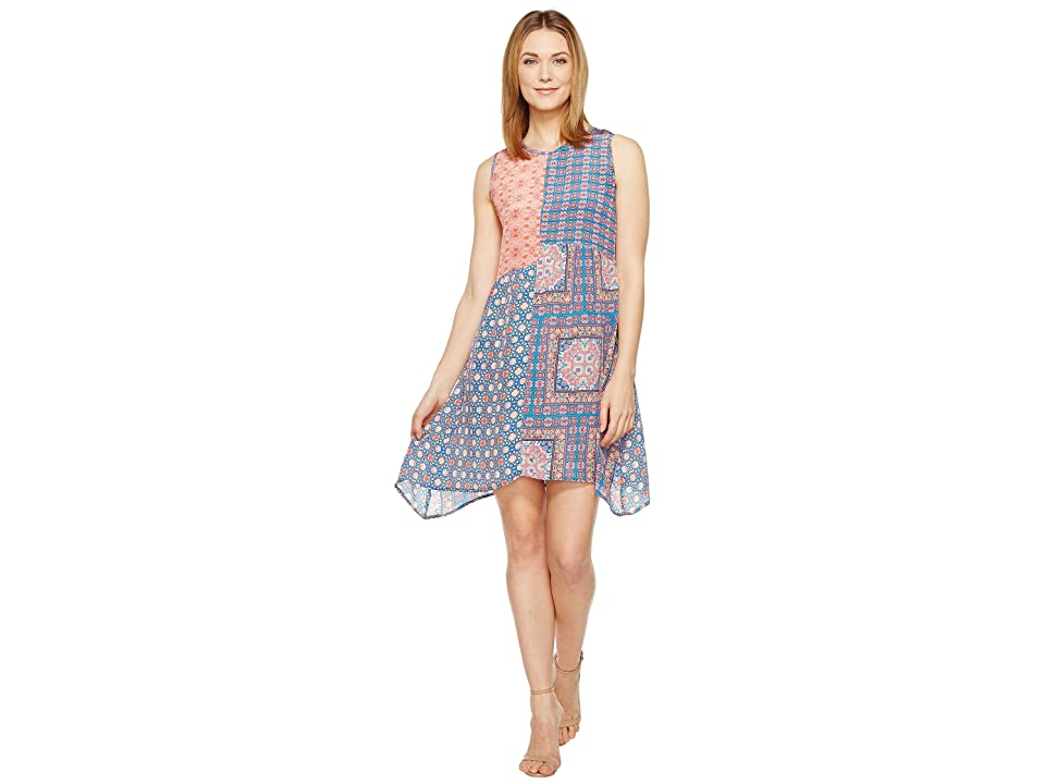 Tolani Cassie Sleeveless Mini Dress (Pink) Women