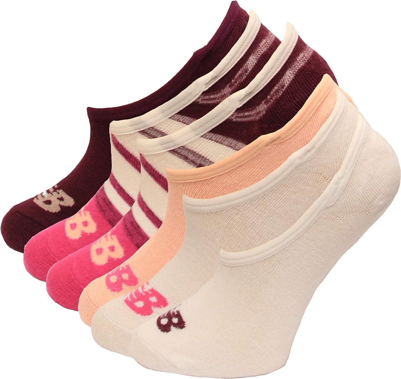 New Balance Kids Liner Socks, 6 Pair