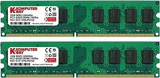 ذاكرة سطح المكتب DIMM 4GB 2X 2GB DDR2 800MHz PC2-6300 PC2-6400 DDR2 800 (240 PIN)