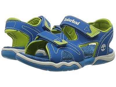 Timberland Kids Adventure Seeker 2 Strap Sandal (Little Kid) (Mykonos Blue) Kids Shoes