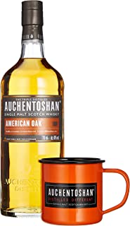 Auchentoshan AMERICAN OAK Single Malt Scotch Whisky 40% Vol. 0,7 l  GB mit Tasse und Cocktail Rezeptbuch