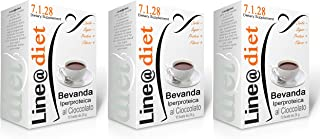 BEVANDE PROTEICHE Line@diet - preparati per Dieta Proteica 10/20 / 30 bustine monodose da € 1,09 (30 bevande CIOCCOLATO)