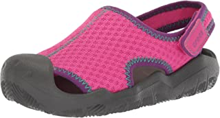 Crocs 204024 Sandalias con Correa de Tobillo para Niños