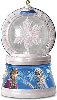 Hallmark Keepsake 2017 Disney Frozen Elsa's Magic Snowflake Christmas Ornament With Light and Music