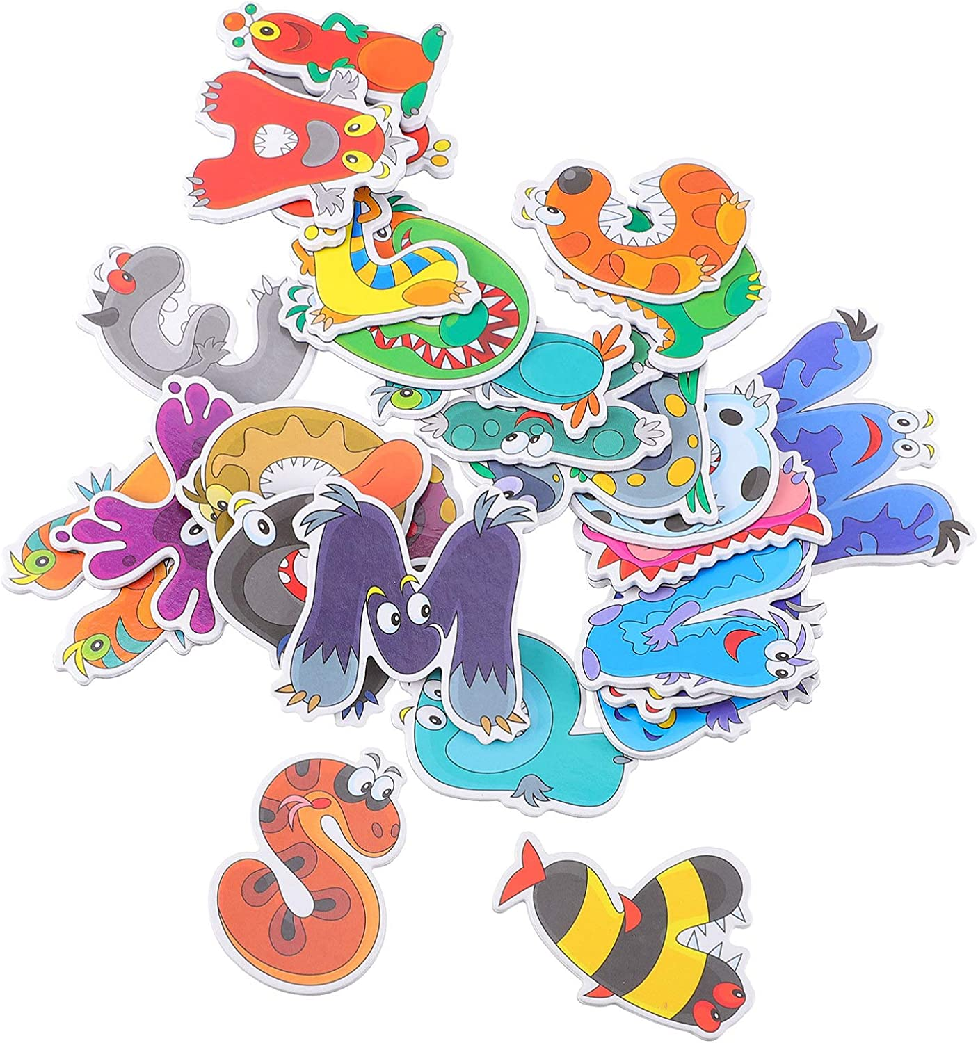 Max Max 64% OFF 49% OFF SOLUSTRE 26pcs Alphabet Refrigerator Animal Pattern with Magnets