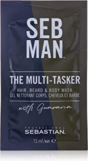 SEB MAN The Multi-Tasker Hair Beard and Body Wash, 15ml