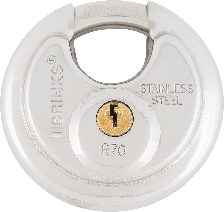 BRINKS 173-70001 Max 50% OFF 70mm Under blast sales Discus Shielded Lock