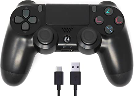 PS4 Controller Wireless Bluetooth with USB Cable for Sony...