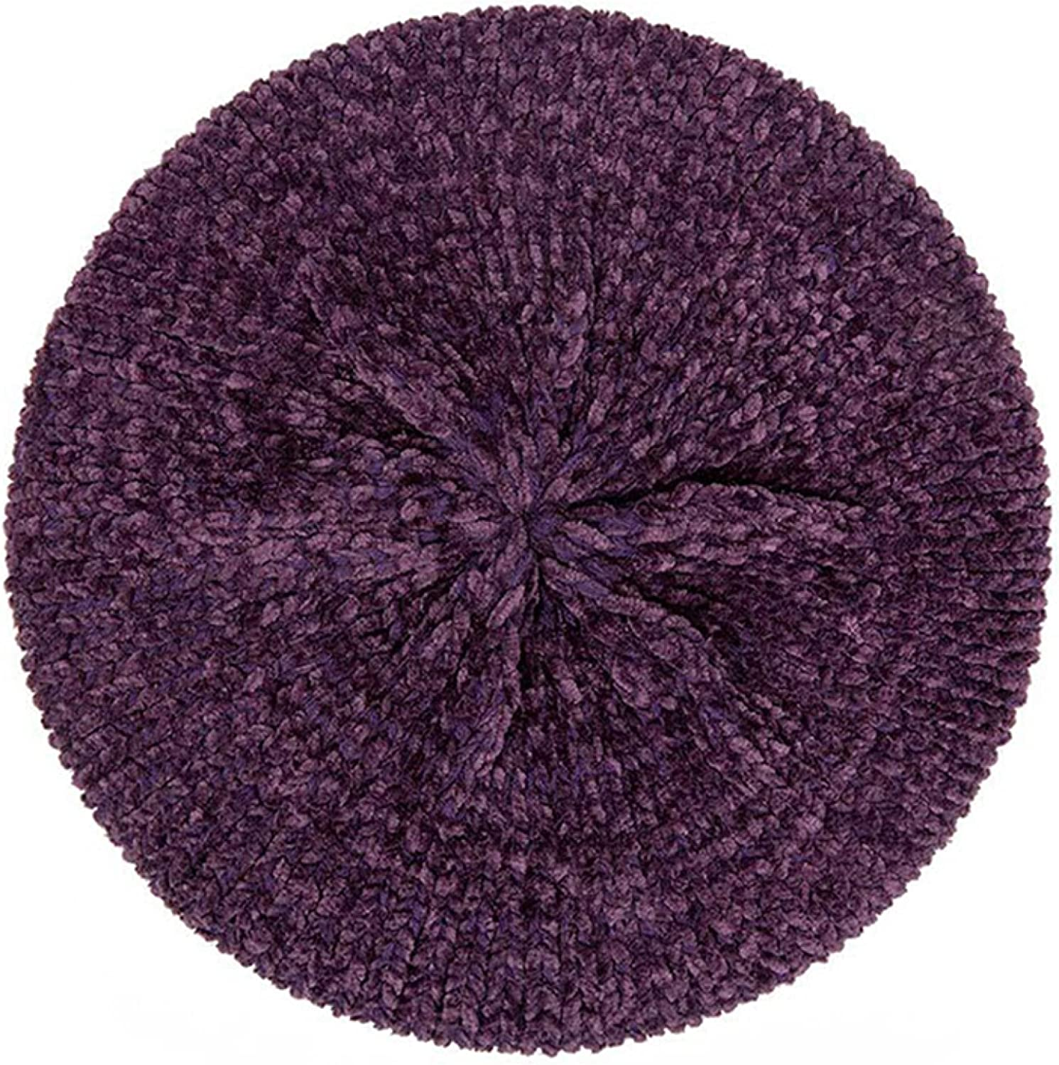 Stylish Berets for Women Super intense SALE Ranking TOP3 Chenille Warm Hat Winter Knitted