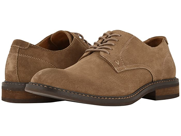 VIONIC  Graham (Tan) Mens Lace Up Cap Toe Shoes