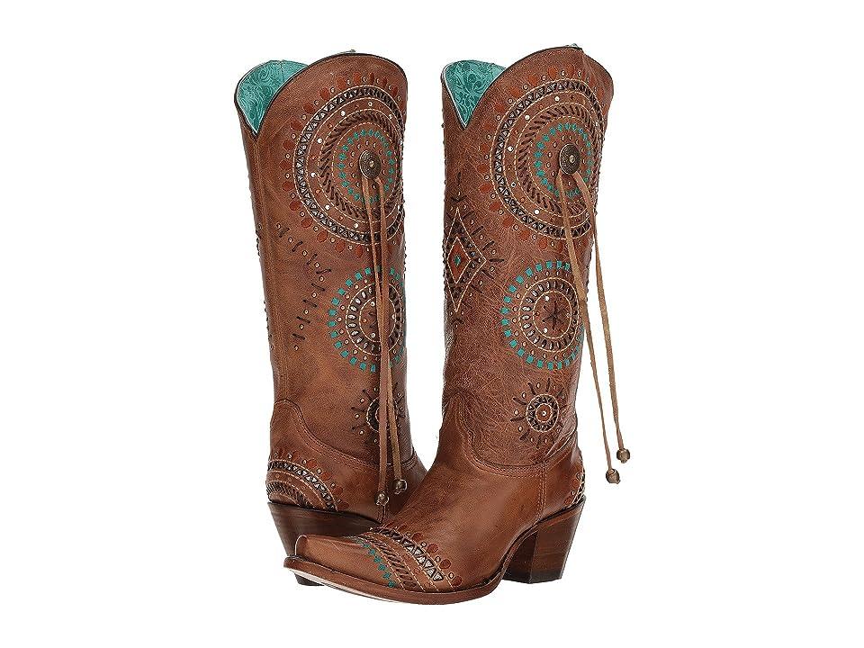 Corral Boots A3524 (Honey) Cowboy Boots