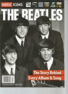 MUSIC ICONS THE BEATLES THE STORY BEHIND EVERY ALBUM &SONG COLLECTOR'S EDITION