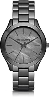 Michael Kors Women's Slim Runway Gunmetal Watch MK3413
