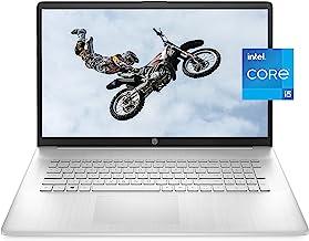 HP 17 Laptop, 11th Gen Intel Core i5-1135G7, 8 GB RAM,...