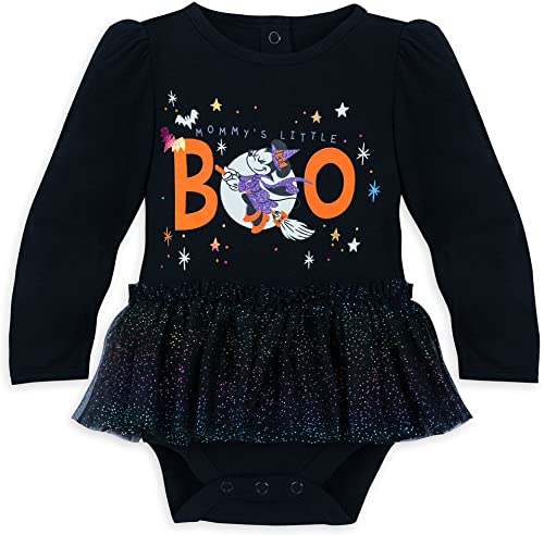 Disney Minnie Mouse '' my's Peu Boo'' HalFaibleeen Bodysuit for   Taille 6-9 MO Multi