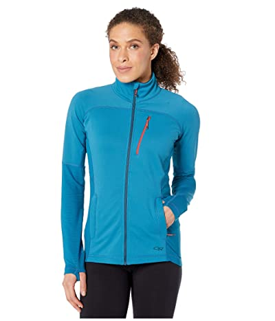 Outdoor Research Vigor Full Zip (Celestial Blue) Women