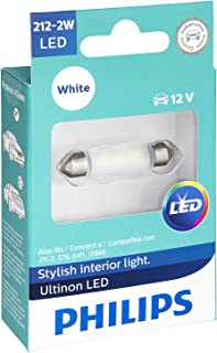 Philips 212-2 Ultinon LED Bulb (White), 1 Pack