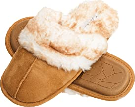 brown moccasin slippers